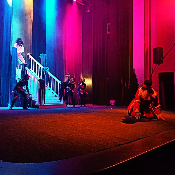 Театр Горького Днепр - ДРАМіКОМ Новорічне шоу Красуня та Чудовисько фото2