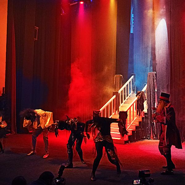 Театр Горького Днепр - ДРАМіКОМ Новорічне шоу Красуня та Чудовисько фото5