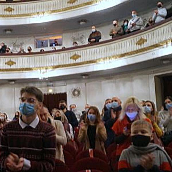 Театр Горького Днепр - ДРАМіКОМ Прем'єра вистави Саша, винеси сміття 081220 фото5